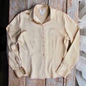 Talbots Silk Blouse